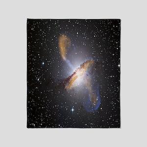 Galaxies Throw Blanket