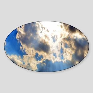 Blue Skie Sticker