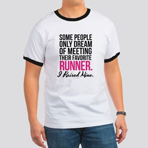 I Raised My Runner T-Shirt