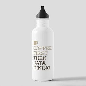 Coffee Then Data Minin Stainless Water Bottle 1.0L
