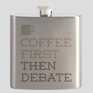 Coffee Then Debate Flask