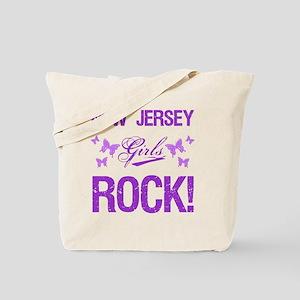 New Jersey Girls Rock Tote Bag