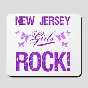 New Jersey Girls Rock Mousepad