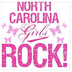 North Carolina Girls Rock Poster