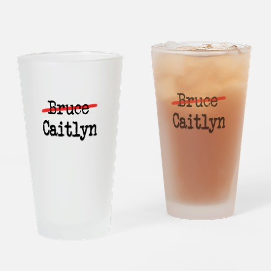 Not Bruce She Is Caitlyn Drinking Glass