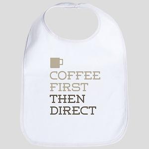 Coffee Then Direct Bib