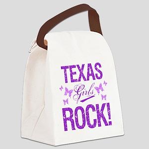 Texas Girls Rock Canvas Lunch Bag