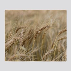 Wheat Throw Blanket