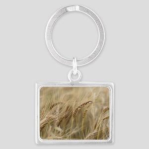 Wheat Landscape Keychain