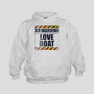 Warning: Love Boat Kid's Hoodie