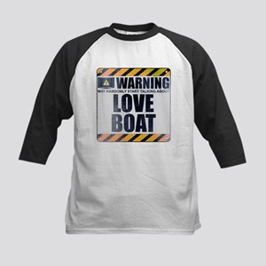 Warning: Love Boat Kids Baseball Jersey