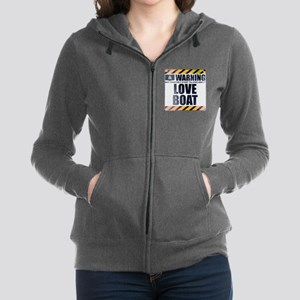 Warning: Love Boat Women's Zip Hoodie