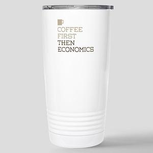 Coffee Then Economics Stainless Steel Travel Mug