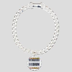 Warning: Medium Charm Bracelet, One Charm