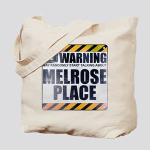 Warning: Melrose Place Tote Bag