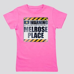 Warning: Melrose Place Girl's Dark Tee