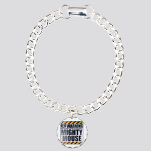 Warning: Mighty Mouse Charm Bracelet, One Charm