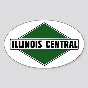 Illinois Central Oval Sticker