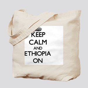 Keep calm and Ethiopia ON Tote Bag