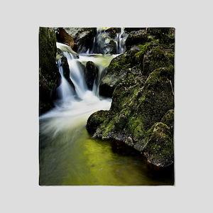 Amazing Waterfall Throw Blanket