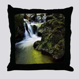 Amazing Waterfall Throw Pillow