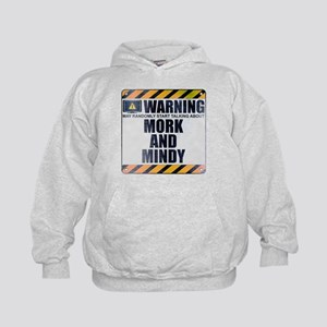 Warning: Mork and Mindy Kid's Hoodie