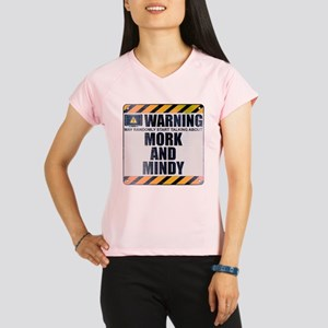 Warning: Mork and Mindy Women's Performance Dry T-