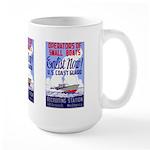 US Coast Guard Large Vintage Mug