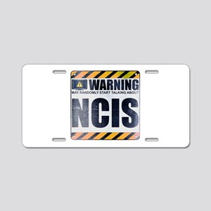 Warning: NCIS Aluminum License Plate
