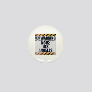 Warning: NCIS: Los Angeles Mini Button