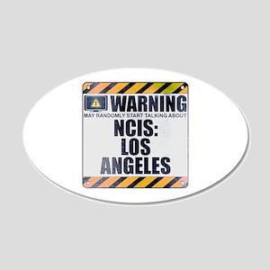 Warning: NCIS: Los Angeles 22x14 Oval Wall Peel