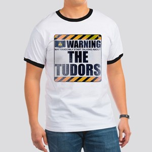 Warning: The Tudors Ringer T-Shirt