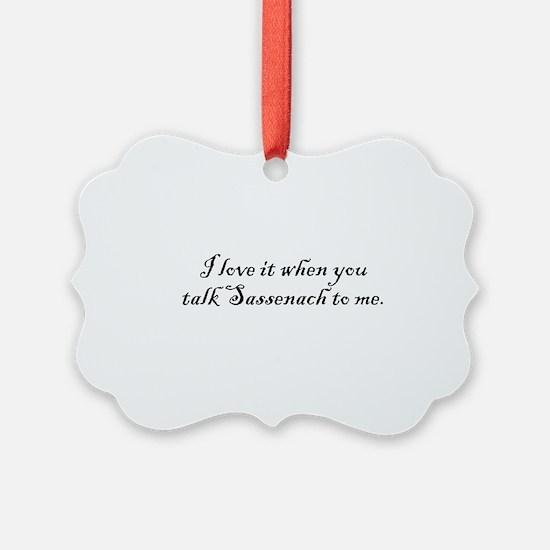 TalkSass2Me Ornament