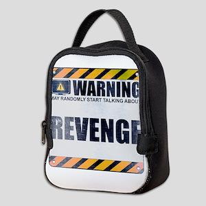 Warning: Revenge Neoprene Lunch Bag