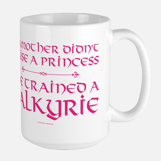Mother Trained a Valkyrie Mugs