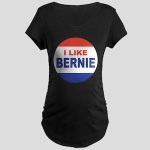 i like bernie 2016 best Maternity Dark T-Shirt