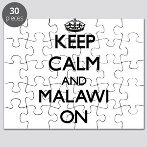 Keep calm and Malawi ON Puzzle