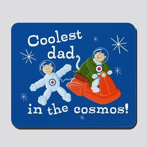Space Cats Coolest Cosmos Dad Mousepad