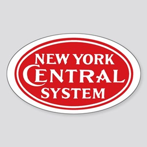 New York Central 1 Oval Sticker