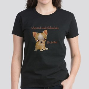 When God Made Chihuahuas T-Shirt