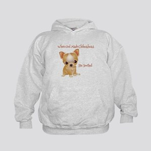 When God Made Chihuahuas Hoodie