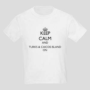 Keep calm and Turks & Caicos Island ON T-Shirt