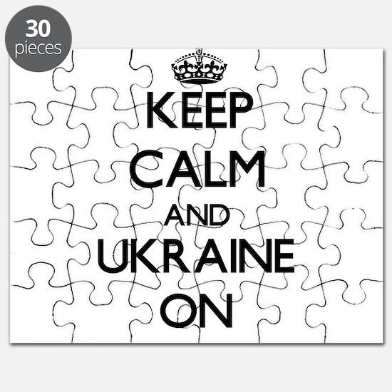 Keep calm and Ukraine ON Puzzle