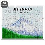 Mt Hood Oregon Puzzle
