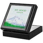 Mt Hood Oregon Keepsake Box