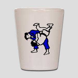 Judo Shot Glass