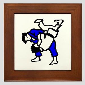 Judo Framed Tile
