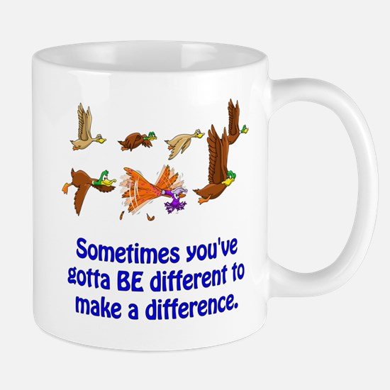 Funny Making a difference Mug