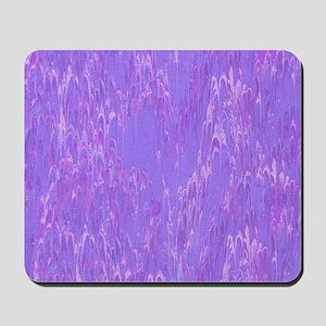Light Purple Lava Print Mousepad