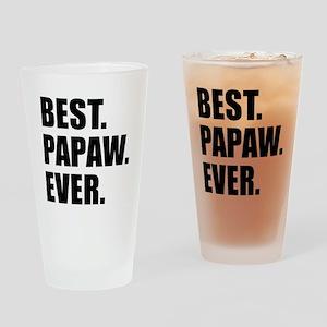 Best Papaw Ever Drinkware Drinking Glass